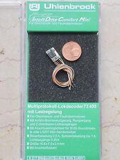 Uhlenbrock 73400 Multi MOT DCC MicroLokdecoder + Kabel Spur N,TT + Sound SS NEU