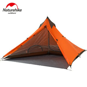 Naturehike-Spire-1-person-Awning-Outdoor-Double-Layer-Waterproof-Tower-Tent