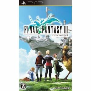 Used-PSP-Final-Fantasy-III-SONY-PLAYSTATION-JAPAN-IMPORT