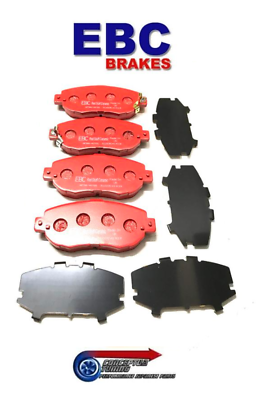 EBC Redstuff Rear Brake Pads For Mk4 JZA80 Toyota Supra 2JZ-GE
