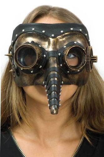 Pestmaske Dr Steam steampunkmaske peste arztmaske Halloween