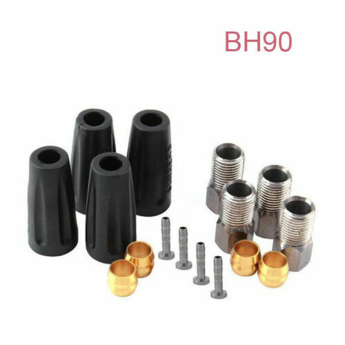 Bike Hydraulic Hose Olive Insert Set Shimano Oil Brake Bicycle Connector BH59//90