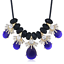 Fashion-Jewelry-Crystal-Choker-Chunky-Statement-Bib-Pendant-Women-Necklace-Chain miniature 164