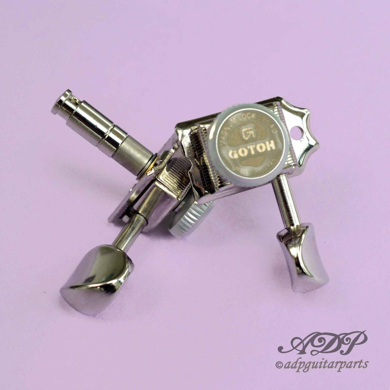 Mecaniques Blocables Gotoh SD91 MG-T Magnum Lock Trad. 6L locking tuners Nickel