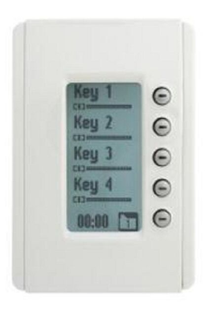 Clipsal NEO RANGE C-BUS DLT WALL SWITCH 5-Buttons Learn Enabled WHITE ELECTRIC