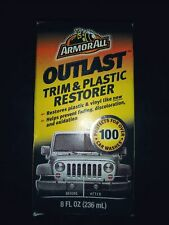 by Armor All 8 fl Armor All 17451 Outlast Trim and Plastic Restorer oz