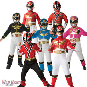 BOYS-GIRLS-MEGAFORCE-POWER-RANGERS-FANCY-DRESS-COSTUME-SAMURAI-ROBO-KNIGHT