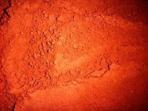 Details about Powdered Cinnabar Crystal Native Pigment Material 50 gram Lot