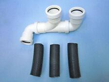 Residuos de caravana Tubo Adaptador Para Aquaroll WASTEMASTER, Residuos Hog o similar