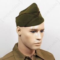 Ww2 Us Issue Type Garrison Cap - Tank Destroyer - Repro Military Army American