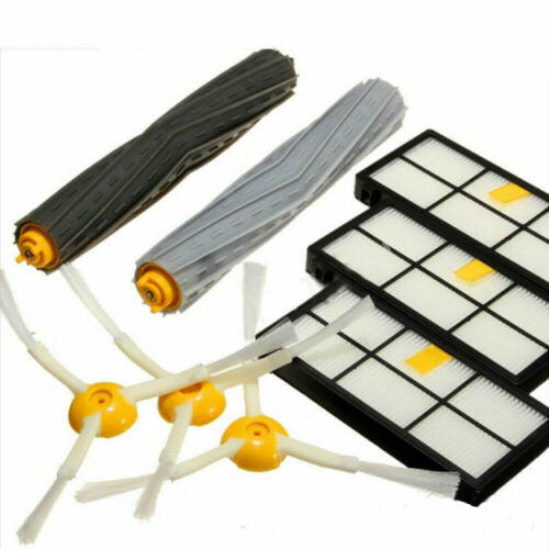 Vacuum Cleaner Kit Brush Filter Replacement Part Fit For Roomba 800//900 Series