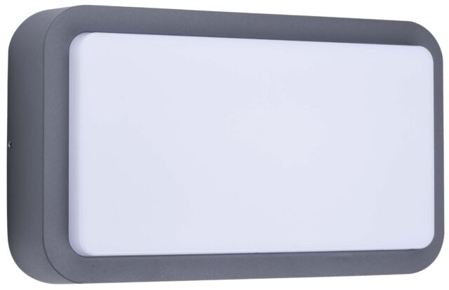 Ranex LED Outdoor Wall Light 7W 630lm Black 1002718 Wall Light