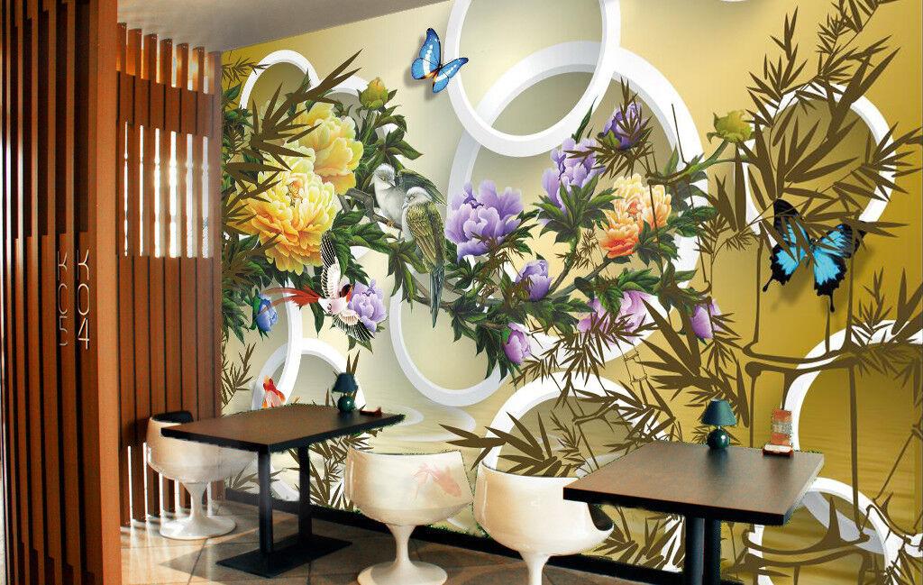 3D Grass Flower 97 Wallpaper Mural Wall Print Wall Wallpaper Murals US Carly