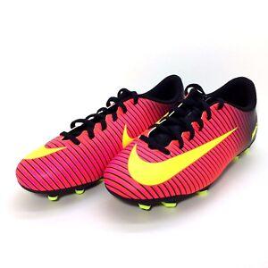 a5936d83b Nike JR Mercurial Vortex III FG Junior Soccer Cleats 831952 870 Size ...