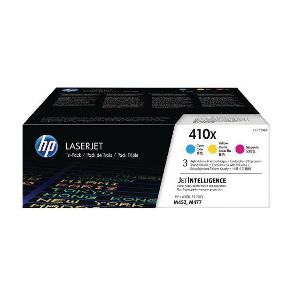 HP 410X ad alta resa ciano magenta giallo Laserjet Cartucce di Toner HPCF 252XM []