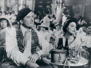 1957 Actor Errol Flynn & Actress Ava Gardner In Movie The Sun Also Rises Photo