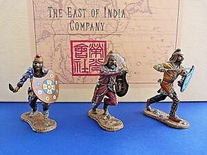 The East Of India Company - Acp08 Armée Perse 3 Soldats De L'infanterie Set 2