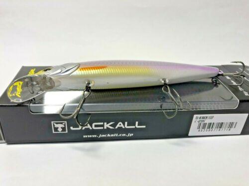 56889 Jackall RV MINNOW 110SP Jerkbait #Pearl Wakasagi