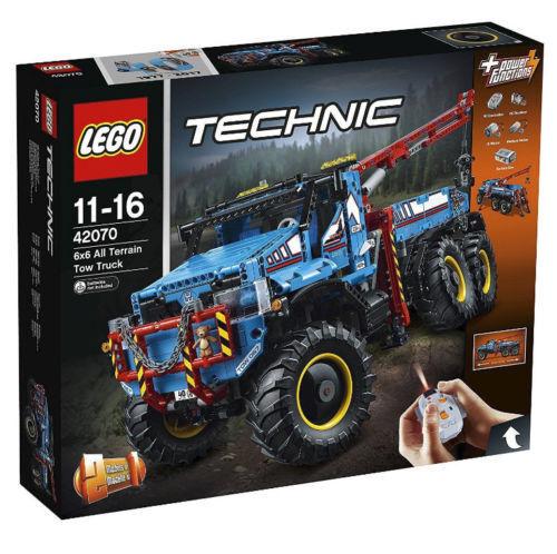 LEGO ® TECHNIC 42070 CAMION AUTOGRU' 6 X 6