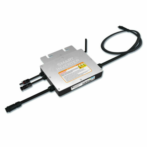 300W 600W Waterproof Grid Tie Inverter 110V For 30//36V Solar Panel Microinverter