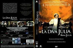 LA-DIVA-JULIA-2004-BEING-JULIA-di-Istvan-Szabo-DVD-USATO-DOLMEN