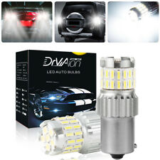 2x 1156 Led Reverse Light Canbus Backup Bulb White Parking Drl Lamp Error Free