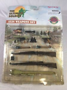 WWII Weapons Set 21st Century Toys New *RARE* The Ultimate Soldier U.S