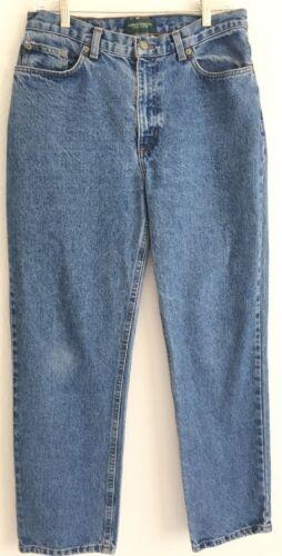 Vintage haute Fade Ralph Lauren 30x30 taille L 10 parfait jeans Vguc Sz Slim rE1xw0trq