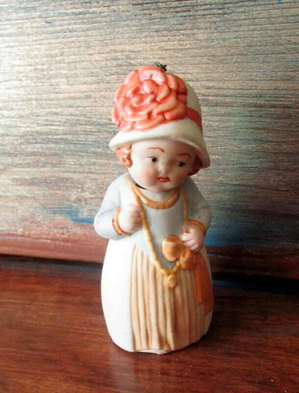 Antique bisque Nodder bambola     - marked Geruomoy  spedizione gratuita