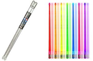 Drumsticks Light up Color Changing 7 LED Effects Performance Poly-carbonate 5b