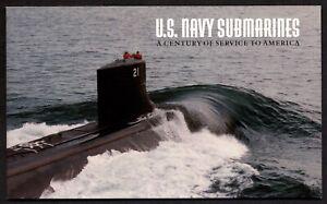 US Scott BK 279 Booklet SUBMARINES , Sea Battles,MINT Great condition