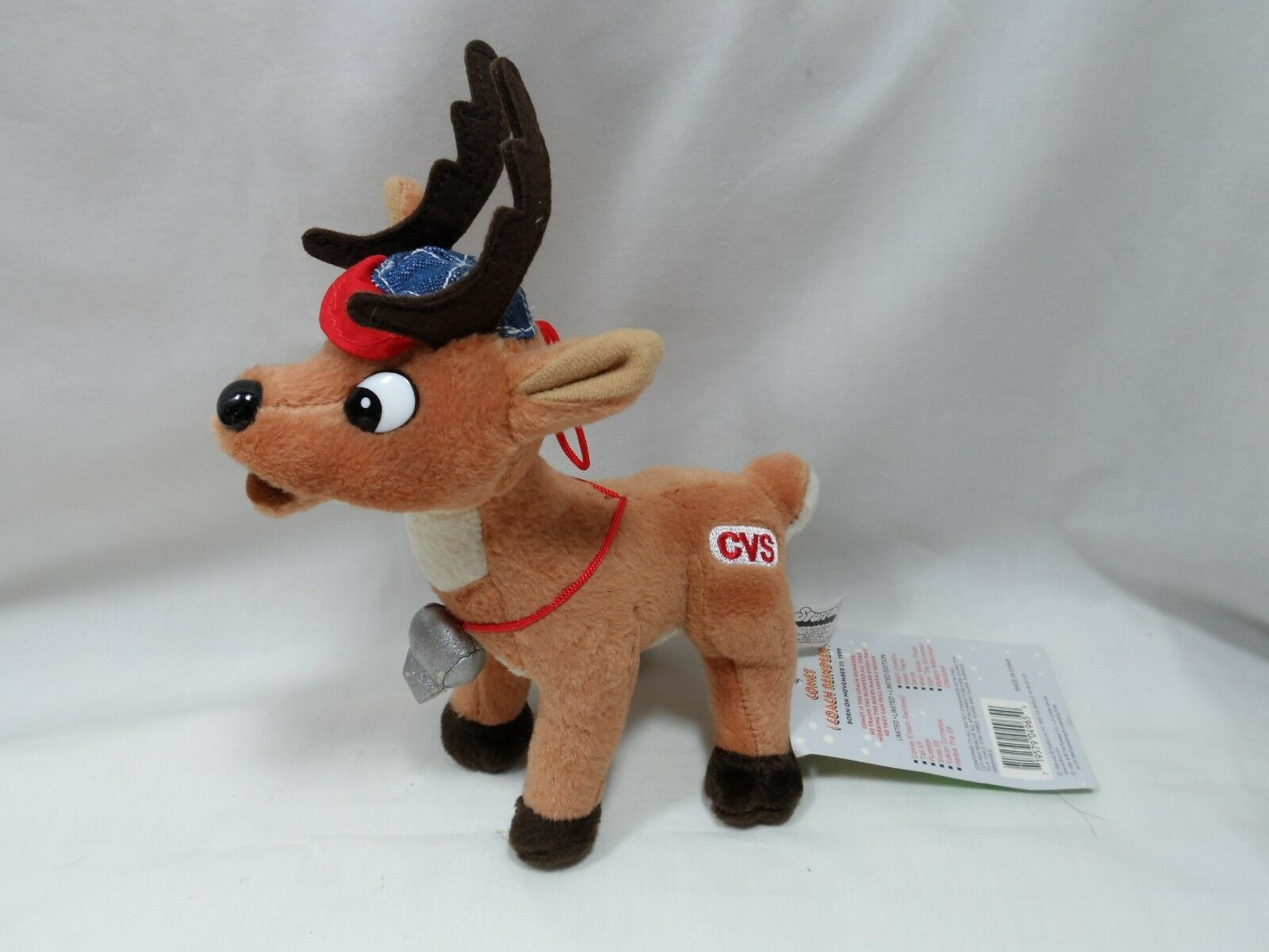 1999 1999 1999 6  Misfit Toys Comet Rudolph the Red Nosed Reindeer New w  Tags 01a07a