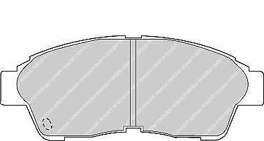 Ferodo FDB867 Essieu Avant Premier Voiture Lot de plaquettes de frein remplace 04465-42060