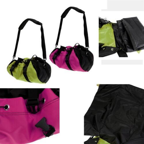 Folding Outdoor Rock Climbing Rope Cord Sling Bag Gear Backpack & Ground Sheet