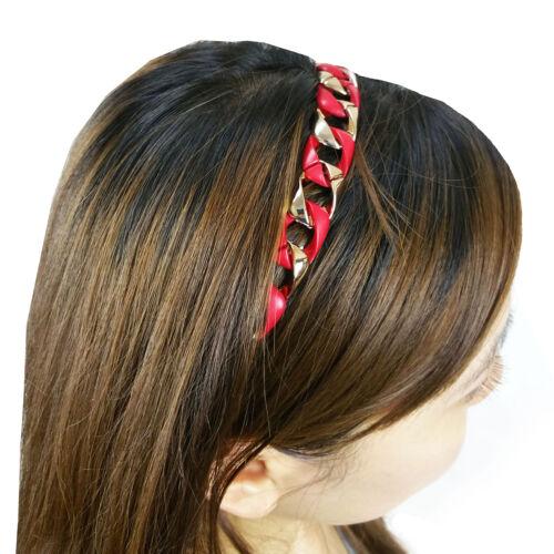 Chain Head Wrap Hair Band w//Elastic New Fashion