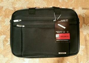 Image Is Loading Samsonite 2 Gusset Briefcase 15 6 034 Classic