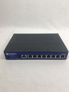 Juniper-Networks-SRX100H2-8-Port-10-100-Security-VPN-Firewall-SRX100-w-AC-adap