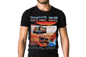 Manilla Road Open The Gates 1985 Album T-Shirt f8wCANU