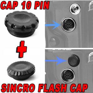CAP-10-PIN-REMOTE-CONTROL-MC-30-SYNC-FLASH-COVER-CAMERA-NIKON-D810-D810A-D800-F2