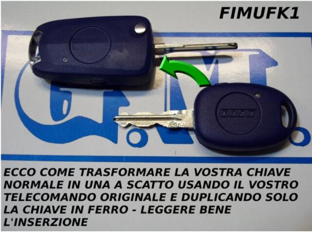 GUSCIO CHIAVE TRASFORMATA A SCATTO COMPATIBILE FIAT MULTIPLA COME DA FOTO