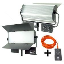 Blendfreie LED Flächenleuchte Bicolor 6000 lm 64W Studioleuchte Dauerlicht Fernb