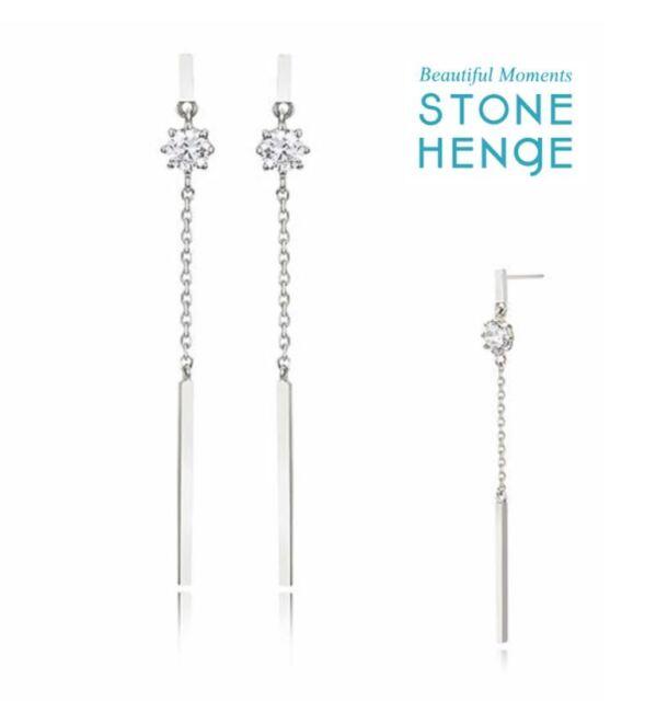 91fcead7d4 Stone Henge K1147 Earrings Korea Jewelry With Gift and