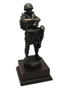 British Airborne Paratrooper Statue - Drop Order LLP ( PARA AIRBORNE Pathfinder