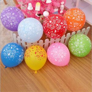 10Pcs-Latex-Multicolore-Ballons-Fete-D-039-Anniversaire-Ballons-Gonflables-Dec-FE