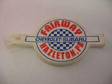 Keychain: Fairway Chevy Subaru Hazleton PA Pennsylvania