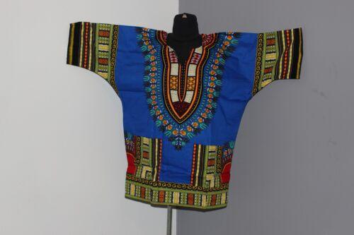 Unisex African Dashiki Shirt Dress Boho Hippe Gypsy Festival Tops