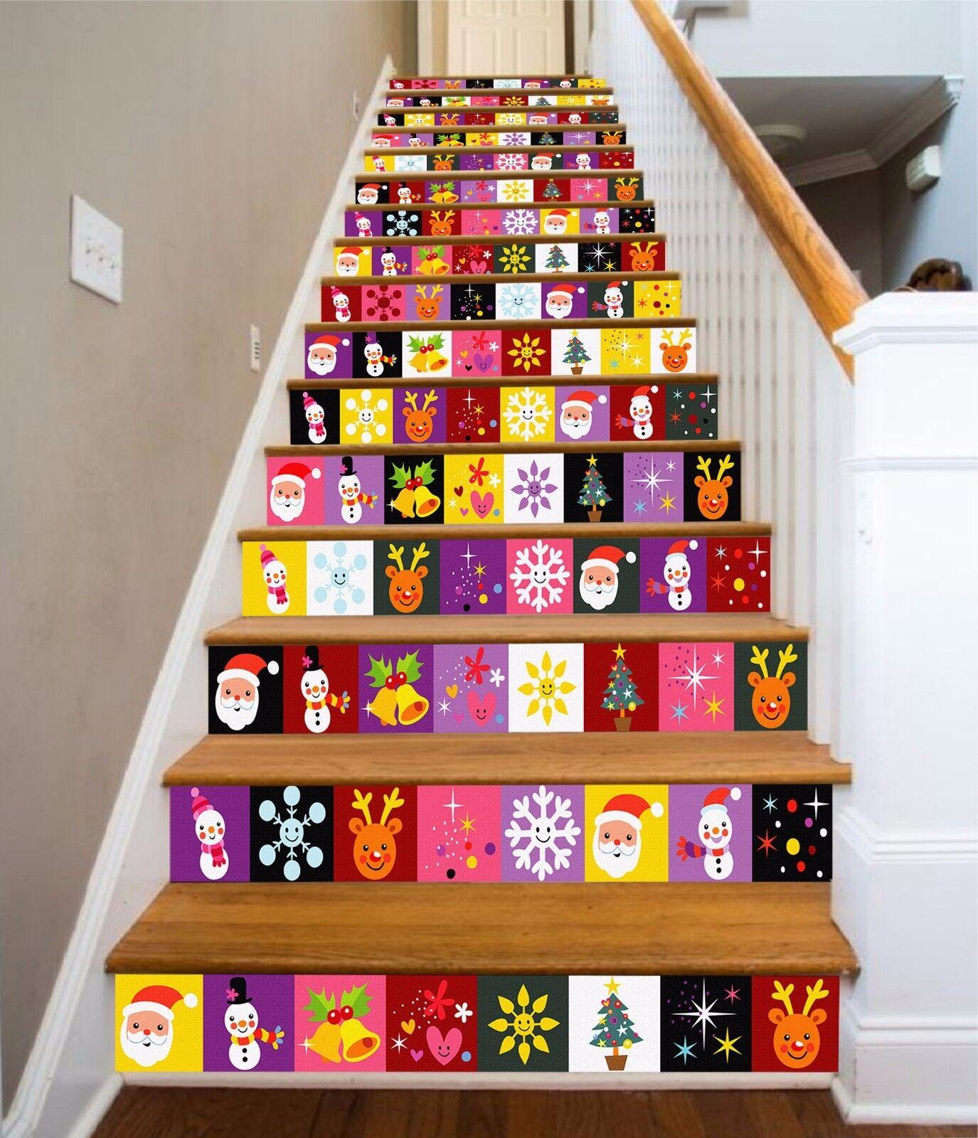 3D Nettes Muster 35 Stair Risers Dekoration Fototapete Vinyl Aufkleber Tapete DE