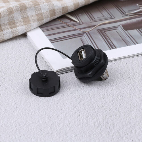 USB female socket plug panel mount adapter USB 3.0 waterproof connector IP67 SKU