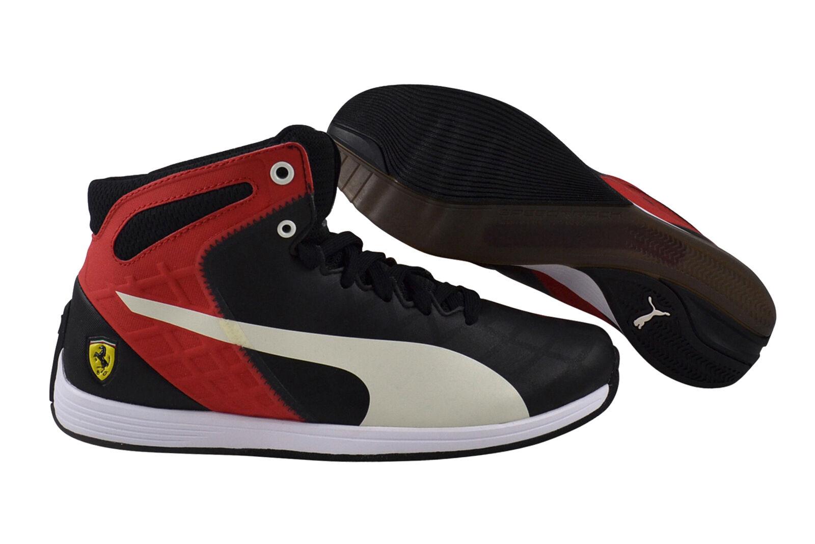 Casual salvaje Puma evo Speed 1.4 SF mid 10 Black Mystic Blue zapatos zapatillas negro 305556 02