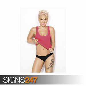 PINK-UNDERWEAR-P-NK-1185-Photo-Picture-Poster-Print-Art-A0-A1-A2-A3-A4